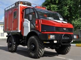 Силант автомобиль для тушения пожаров в лесу|Фото: авиалесохрана ХМАО