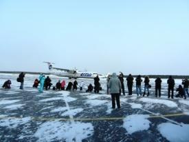 весенний споттинг аэропорт сургут|Фото: airport-surgut.ru