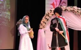 ханты-мансийск свадебные обряды разных народов фестиваль, сцена, костюмы Фото: admhmansy.ru
