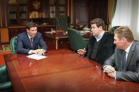 Михаил Юревич и Денис Мацуев|Фото: gubernator74.ru