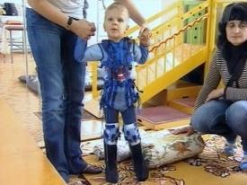 костюм космонавта для лечения дцп|Фото: 1tv.ru