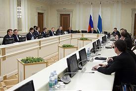 Александр Мишарин президиум правительства|Фото: midural.ru