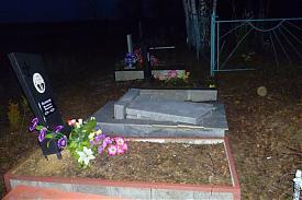 вандалы погром кладбище|Фото: пресс-служба ГУ МВД по Свердловской области