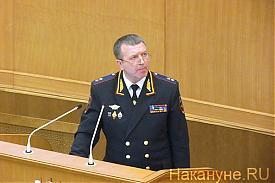 начальник ГУ МВД по Свердловской области Михаил Бородин Фото: Накануне.RU