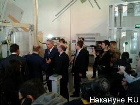 рогозин, визит, уральский оптико-механический завод|Фото: Накануне.RU