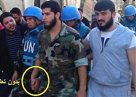повстанцы и ООН Сирия|Фото: http://anhar.livejournal.com/