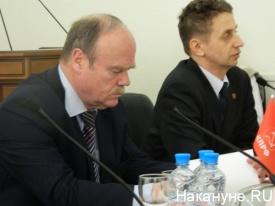 Святошенко и Маркин КПРФ|Фото: Накануне.RU