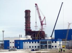 строительство няганьская грэс|Фото: fortum.ru