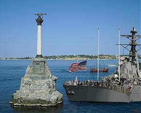 коллаж Севастополь НАТО США корабли флот|Фото: