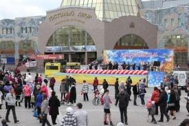 первомай праздник гуляния народ ханты-мансийск Фото: admhmansy.ru
