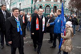Первомай демонстрация Андрей Ветлужских Александр Мишарин Фото: amisharin.ru
