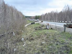 трасса ДТП|Фото: пресс-служба УГИБДД Свердловской области