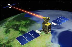 лазерное оружие спутник Фото: