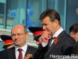 парад, день победы, екатеринбург, мишарин, сметанюк|Фото: Накануне.RU