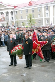курган, парад, 9 мая, олег богомолов|Фото:http://www.kurganobl.ru