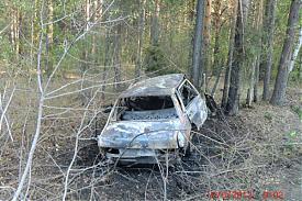 сгорел ВАЗ-21099 авария|Фото: пресс-служба УГИБДД Свердловской области