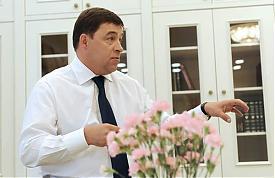 Евгений Куйвашев|Фото: департамент информационнной политики губернатора Свердловской области