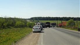ДТП трасса|Фото: пресс-служба УГИБДД Свердловской области