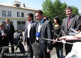 полпред президента в УрФО Игорь Холманских, УВЗ|Фото: Накануне.RU