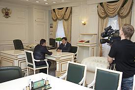 Холманских Игорь Куйвашев Евгений|Фото: департамент информационной политики губернатора Свердловской области