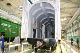 УВЗ весоповерочный вагон|Фото: www.uvz.ru