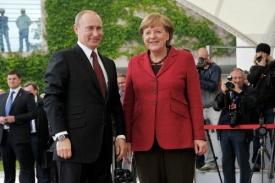 Владимир Путин, Ангела Меркель|Фото: