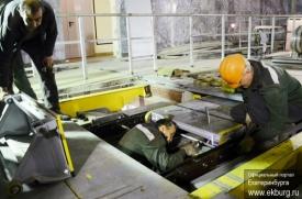 метро Чкаловская рабочие Фото: www.ekburg.ru