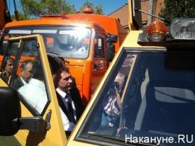 игорь холманских, визит, курган|Фото: Накануне.RU