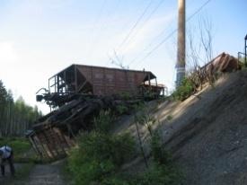 сход вагонов в Свердловской области|Фото: www.ural-sled-trans.ru