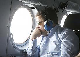 Евгений Куйвашев вертолет|Фото: ДИП губернатора