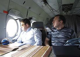 Евгений Куйвашев Михаил Бородин|Фото: ДИП губернатора
