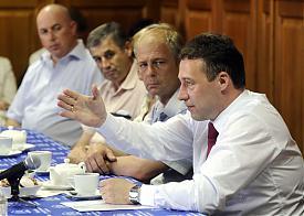 Игорь Холманских движение в защиту человека труда Тюмень|Фото: phototyumen.ru