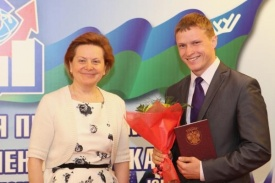 губернатор хмао наталья комарова выдача дипломов президентская программа|Фото: admhmao.ru
