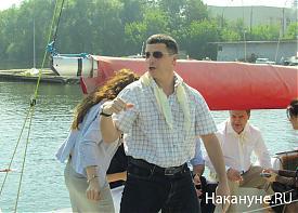 и.о. министра спорта Свердловской области Леонид Рапопорт|Фото: Накануне.RU