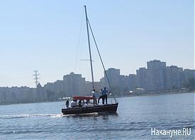 яхта Верх-Исетский пруд|Фото: Накануне.RU