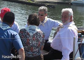 яхта Генсек Международного бюро выставок Висенте Лоссерталес|Фото: Накануне.RU