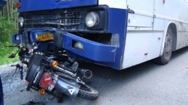 автобус ДТП мотоцикл|Фото: 66.gibdd.ru