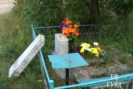 вандалы погром на кладбище|Фото: 66.mvd.ru