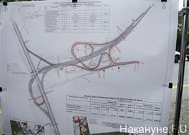 Осмотр Евгением Куйвашевым транспортных развязок в Екатеринбурге|Фото: Накануне.RU