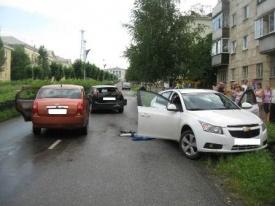 ДТП Шевроле Форд Чери|Фото: 66.gibdd.ru