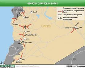 Оборона сирийских войск Фото: Накануне.RU