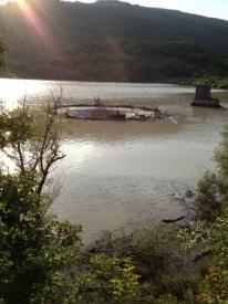 наводнение, крымск, водохранилище, слив Фото: twitter.com/tagan77