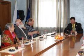 встреча с главой нефтеюганска виталием бурчевским и гостей из германии|Фото: www.admugansk.ru