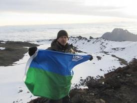 нотариус из югры покоряет гималаи горы флаг хмао|Фото: nphmao.ru