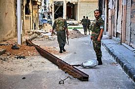 хомс сирия армия военные зачистка боевиков|Фото: anhar.livejournal.com