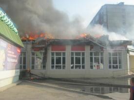 библиотека, пожар, Тюмень|Фото:http://www.72.mchs.gov.ru