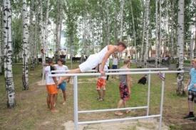 гимнастический комлекс парк Лосева Ханты-Мансийк спорт молодежь|Фото: http://www.молодежь-хм.рф/index.php/63-ustanovit-za-18-chasov