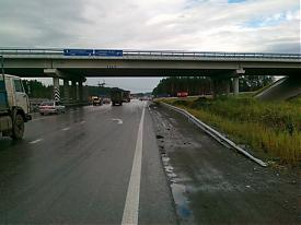 трасса ДТП Фото: пресс-служба УГИБДД Свердловской области