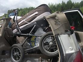 ДТП Мазда коляска|Фото: пресс-служба УГИБДД Свердловской области