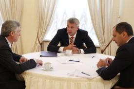 яков силин, сергей носов, денис паслер|Фото: департамент информационной политики губернатора свердловской области
